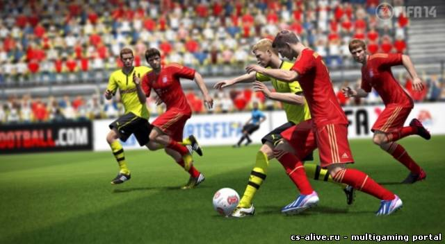 EA анонсировала FIFA 14