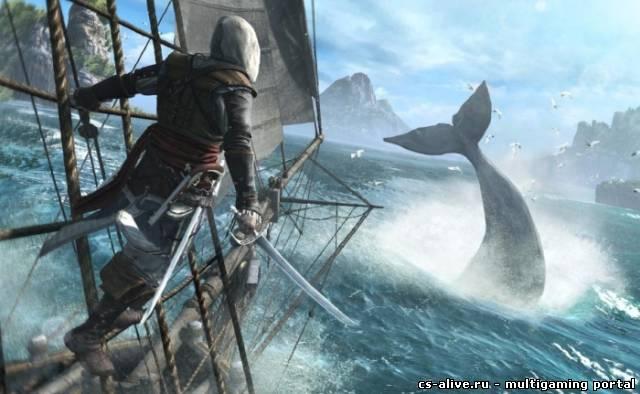 Мультиплеер Assassin's Creed 4: Black Flag будет сухопутным