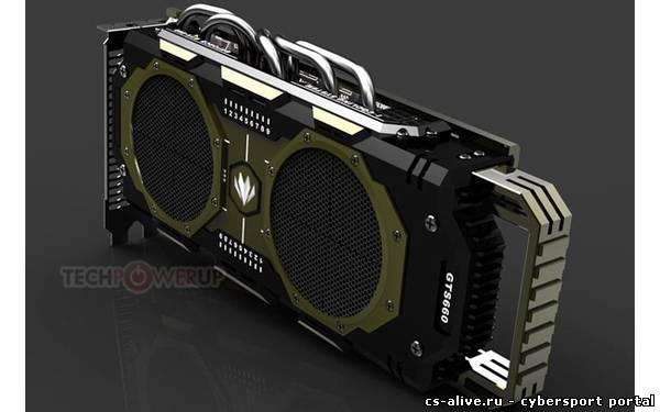 Colorful готовит видеокарту GeForce GTX 660 Glorious Mission